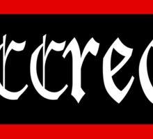 Succream Sticker