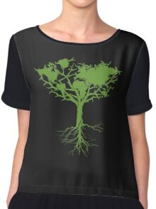 Earth Tree Chiffon Top