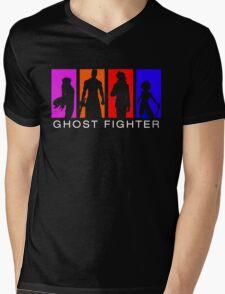 Ghost Fighter Mens V-Neck T-Shirt