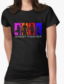 Ghost Fighter Womens Fitted T-Shirt