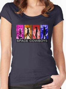 Cowboys in Space Women's Fitted Scoop T-Shirt