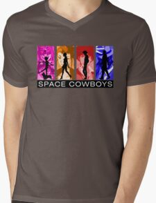 Cowboys in Space Mens V-Neck T-Shirt