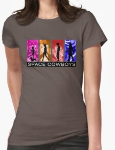 Cowboys in Space Womens Fitted T-Shirt