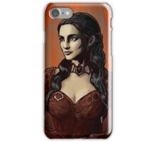 Red woman of Game of Thrones iPhone Case/Skin
