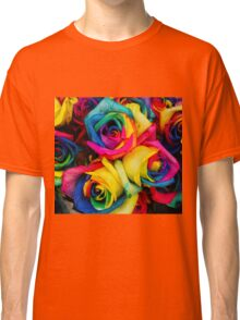 Rose Rainbow Classic T-Shirt