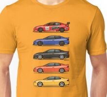 Stack of Holden Monaros Unisex T-Shirt