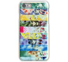 Sailor Moon Group Poster iPhone Case/Skin