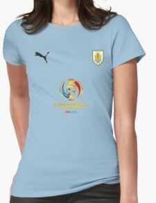 URUGUAY Womens Fitted T-Shirt