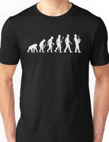 Funny Saxophone Evolution Of Man Unisex T-Shirt