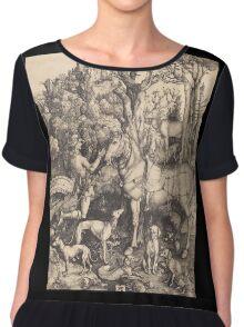 Albrecht Durer  - Saint Eustace  1500-1501 Portrait Fashion Chiffon Top