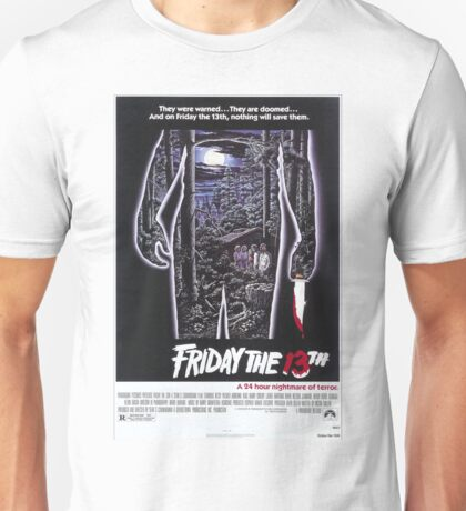 Friday the 13th - Original Poster 1980 Unisex T-Shirt