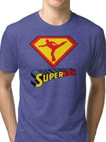 Superkick! Tri-blend T-Shirt