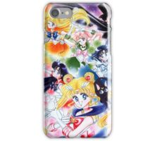 Sailor Moon Group Poster Ver. 2 iPhone Case/Skin