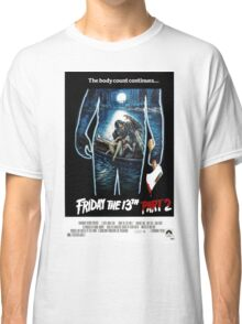 Friday the 13th Part 2 - Original Poster 1981 Classic T-Shirt
