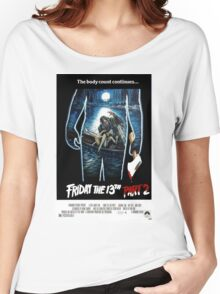 Friday the 13th Part 2 - Original Poster 1981 Women's Relaxed Fit T-Shirt