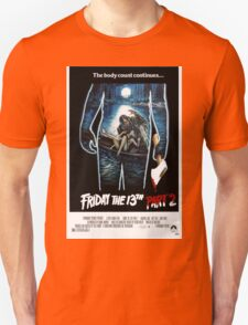 Friday the 13th Part 2 - Original Poster 1981 Unisex T-Shirt