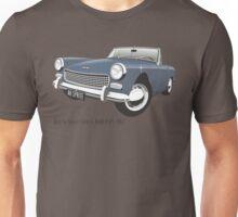 Austin Healey Sprite mark 3 blue Unisex T-Shirt