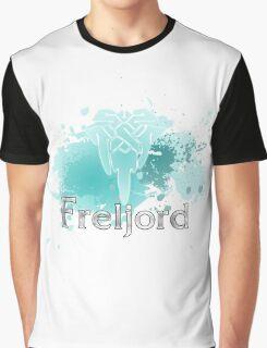 Abstract Freljord Logo Graphic T-Shirt