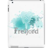 Abstract Freljord Logo iPad Case/Skin