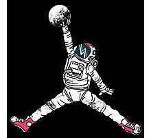 Slam Dunk In Space Photographic Print