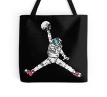 Slam Dunk In Space Tote Bag