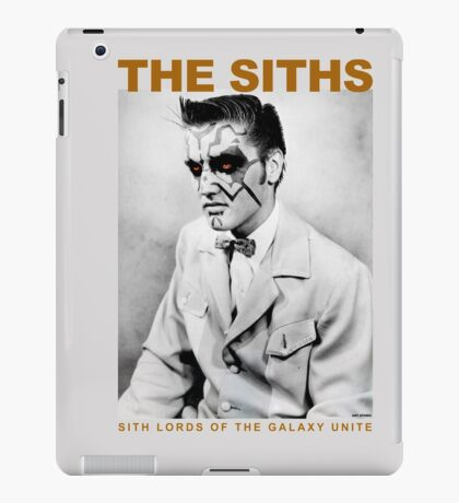 Sith Lords of The Galaxy Unite iPad Case/Skin