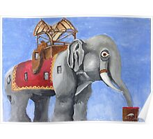 Lucy the Elephant Poster