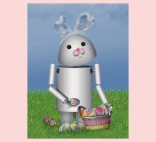 Cute Easter  Robo-x9  Kids Tee