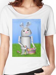 Cute Easter  Robo-x9  Women's Relaxed Fit T-Shirt