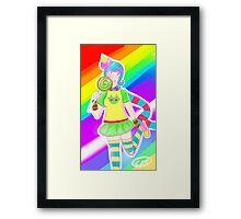 Trickster Roxy Framed Print