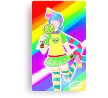 Trickster Roxy Canvas Print