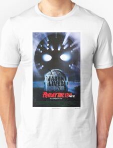 Friday the 13th Part 6 (Jason Lives) - Original Poster 1986 Unisex T-Shirt