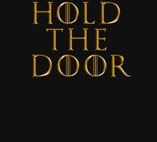 Game of Thrones - RIP Hodor (Hold the Door)  Tshirt ~ GOLD Unisex T-Shirt