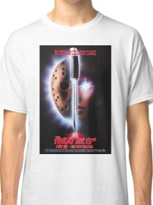 Friday the 13th Part 7 (The New Blood) - Original Poster 1988 Classic T-Shirt