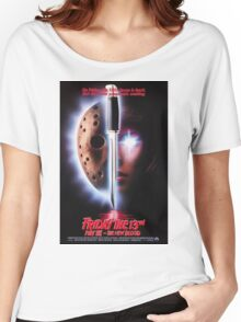 Friday the 13th Part 7 (The New Blood) - Original Poster 1988 Women's Relaxed Fit T-Shirt