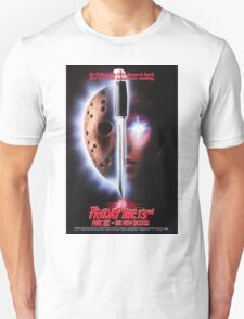 Friday the 13th Part 7 (The New Blood) - Original Poster 1988 Unisex T-Shirt