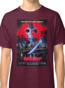 Friday the 13th Part 8 (Jason Takes Manhattan) - Original Poster 1989 Classic T-Shirt