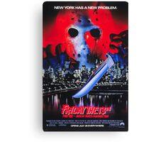 Friday the 13th Part 8 (Jason Takes Manhattan) - Original Poster 1989 Canvas Print