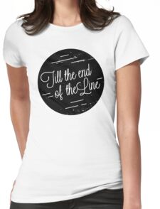 I'm With You Womens Fitted T-Shirt