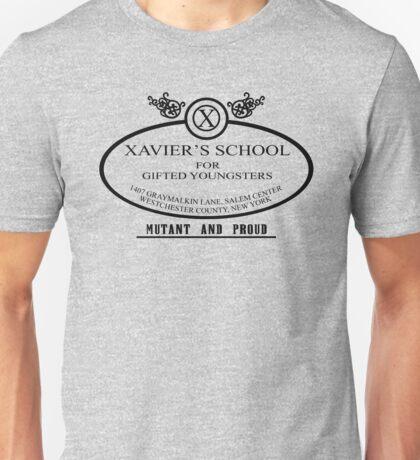 Xavier's School - Mutant and Proud Unisex T-Shirt