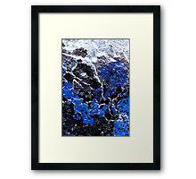 Blue Cliff Framed Print