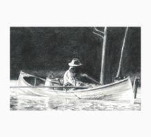 Man Rowing Kids Tee