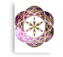 Geo Scorpius | Sacred Geometry Flower of Life Sticker Canvas Print