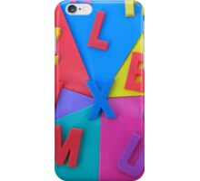 Random Letters iPhone Case/Skin