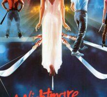 A Nightmare on Elm Street Part 3 (Dream Warriors) - Original Poster 1987 Sticker