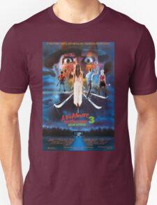 A Nightmare on Elm Street Part 3 (Dream Warriors) - Original Poster 1987 Unisex T-Shirt
