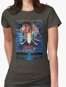 A Nightmare on Elm Street Part 3 (Dream Warriors) - Original Poster 1987 Womens Fitted T-Shirt