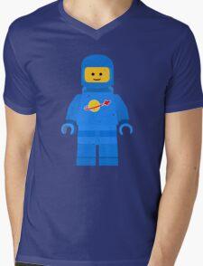 Lego Space Minifigure Mens V-Neck T-Shirt