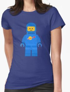 Lego Space Minifigure Womens Fitted T-Shirt