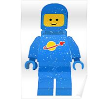 Lego Space Minifigure Poster